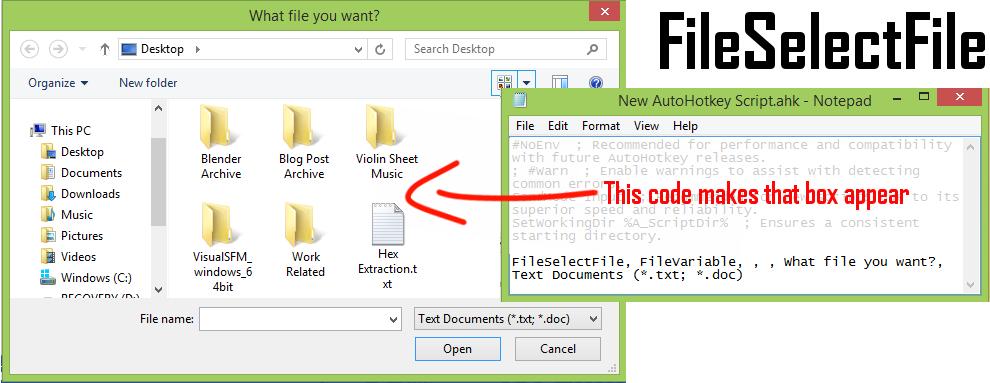 FileSelectFile