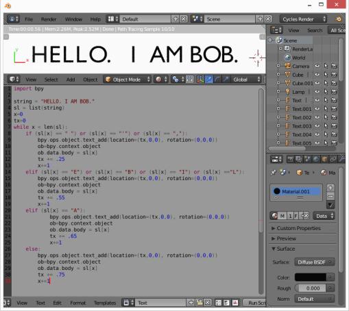 Hello I'm Bob