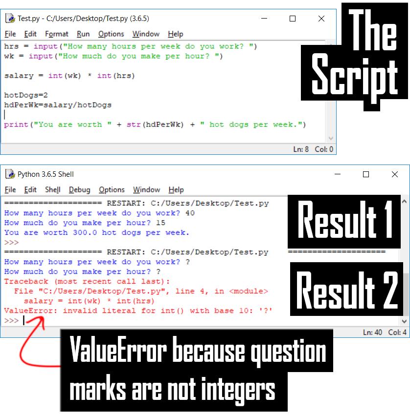 Sample Script