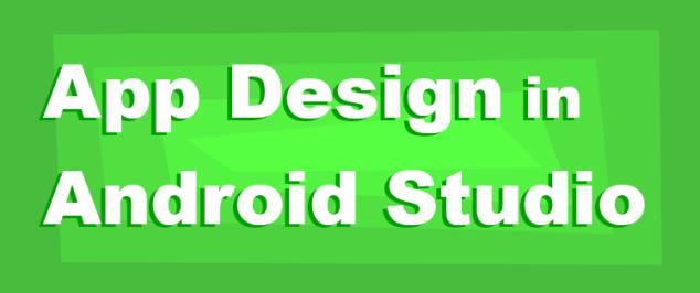 AppDesignForAndroidStudio